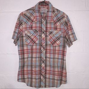 *TRUE RELIGION* Short Sleeve Western